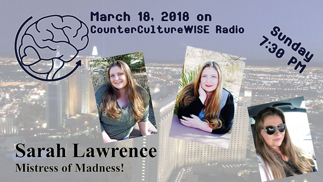 Sarah Lawrence on CCW Radio!